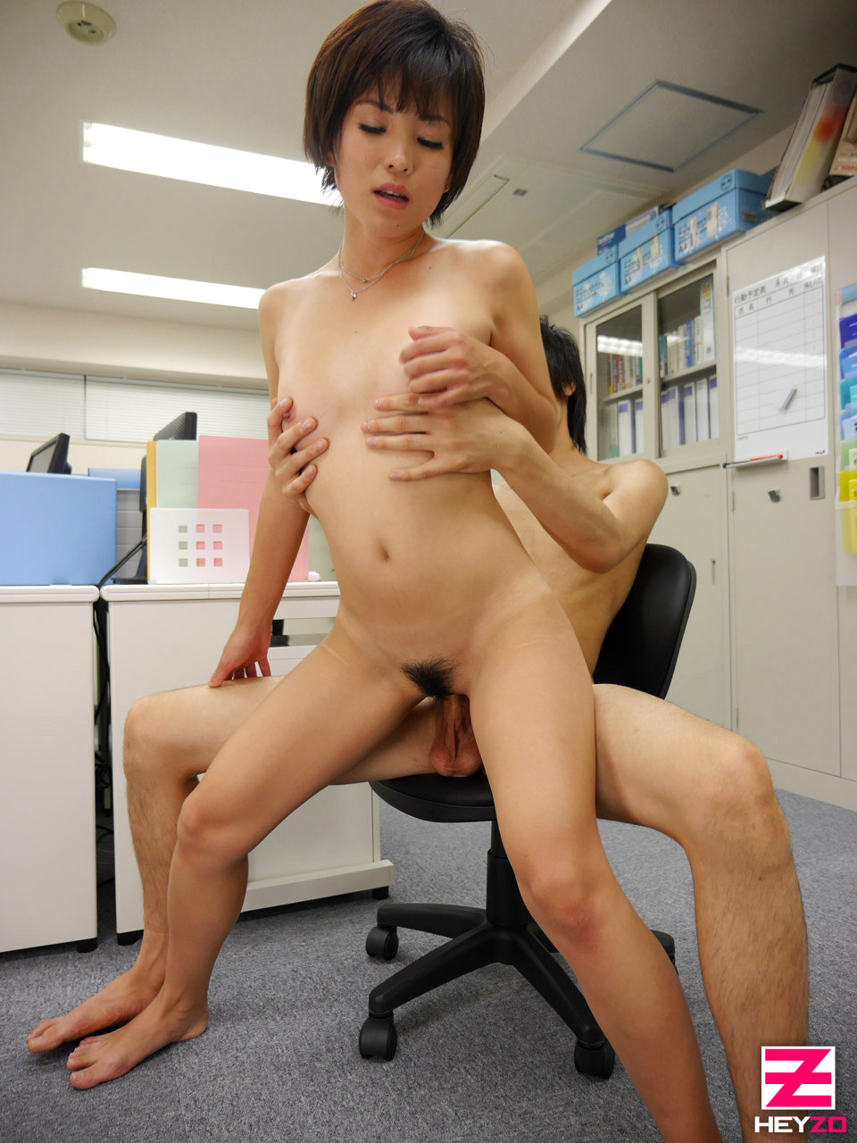 Chinese Malaysian Jerk Off In Office