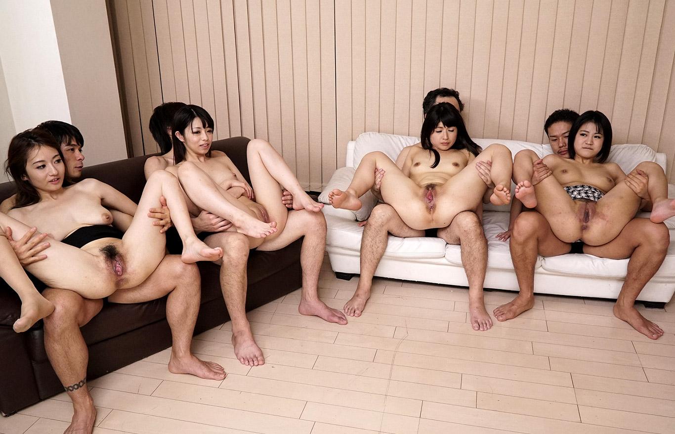 Порно Группа Азиаты